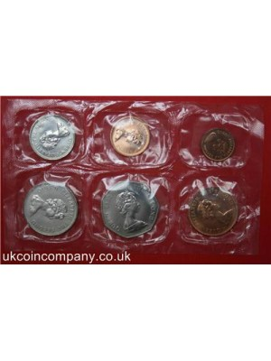 1980 Falkland Islands Uncirculated Coin Set